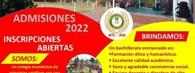 ADMISIONES 2022